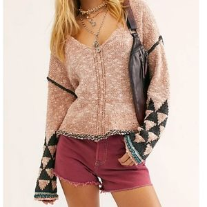 Free People Jackson Pullover Sweater Size Sm NWT